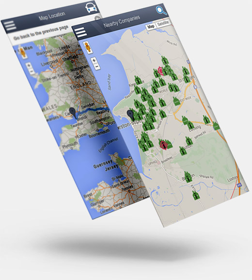 Map integrated data with Salestracker