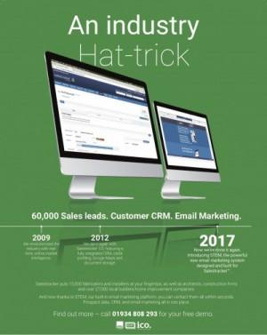 Salestracker-industry-hat-trick