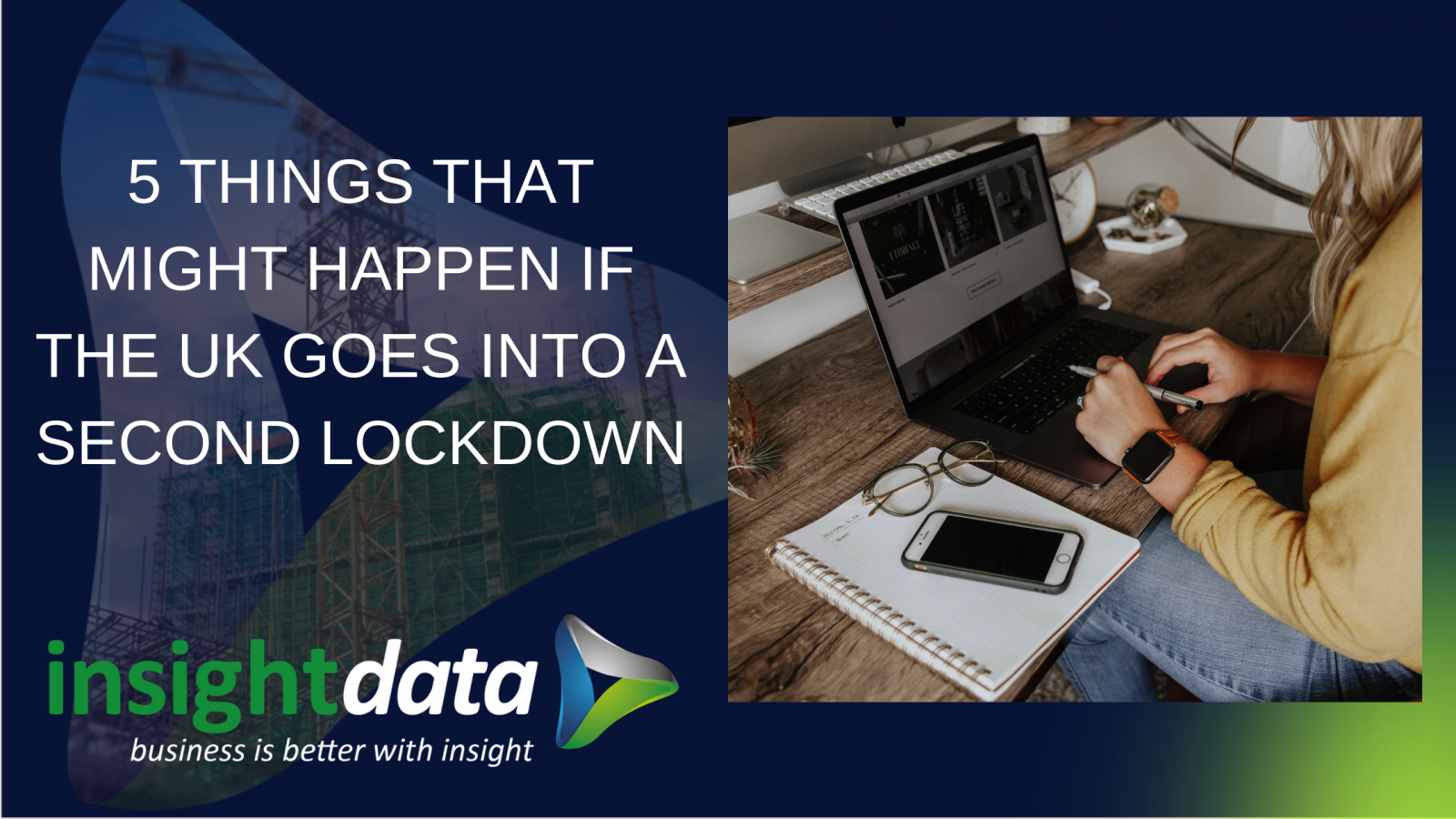 Image of intro card for Insight Data article about second lockdown