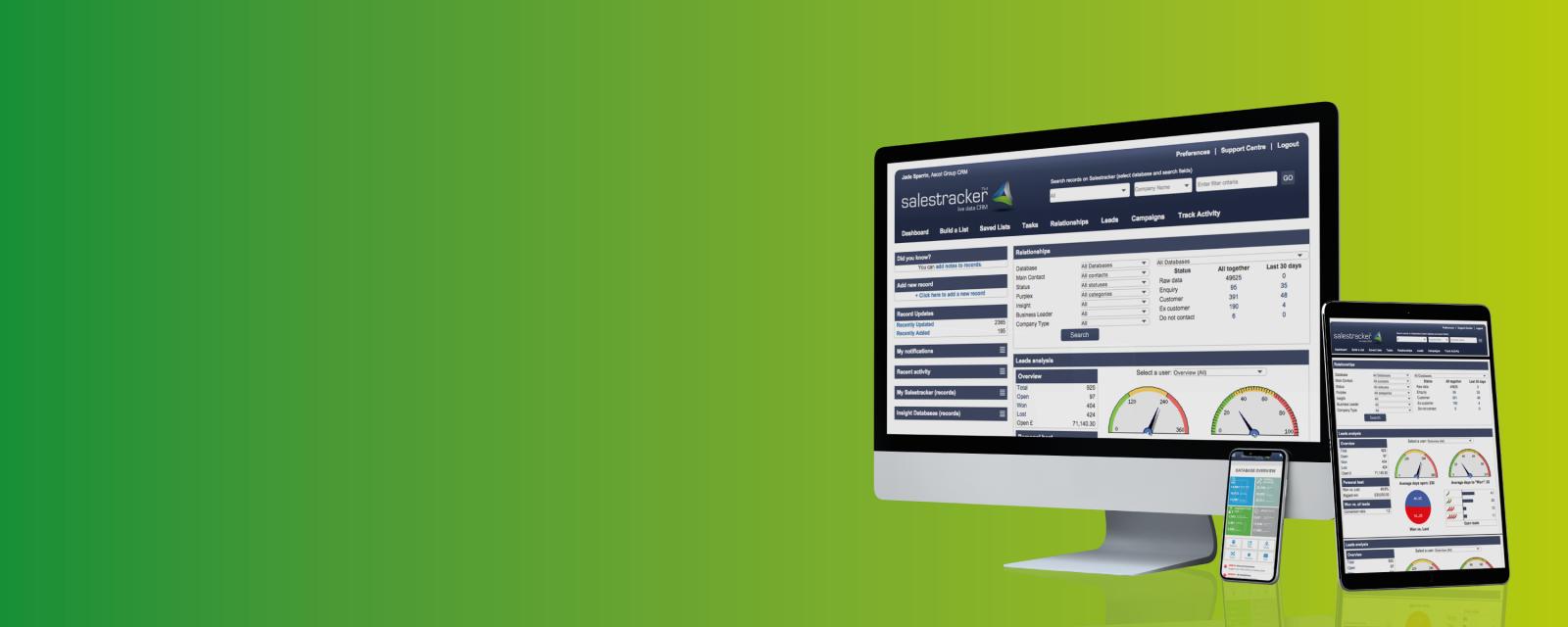 Salestracker & Software Applications
