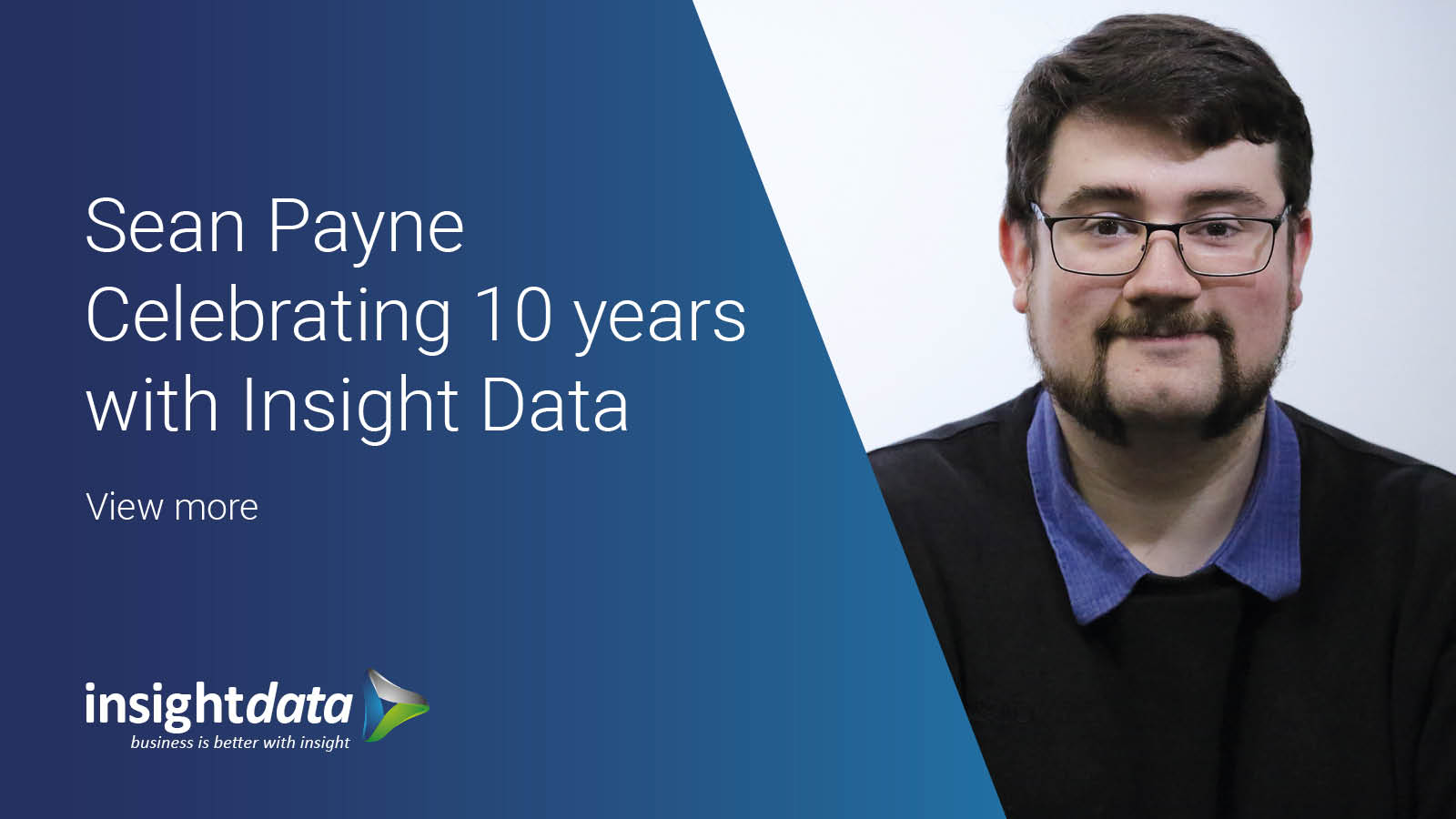 SEAN PAYNE CELEBRATING 10 YEARS WITH INSIGHT DATA